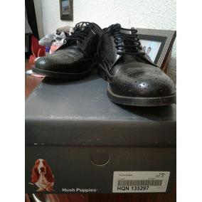 Zapatos De Vestir Hush Puppies Modelo Trust. Negro 37 1/2