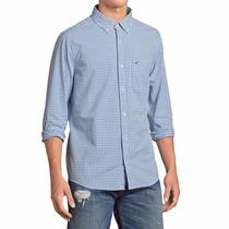Camisa Hollister Quadriculada 100% Original - Tam G/l - P3