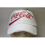 Boné Branco Coca Cola Acessories Vintage Estilo Retrô Top
