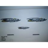 Faixa Biz 100 Es 04 - Moto Cor Verde (602 - Kit Adesivos)