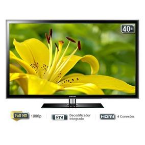 Tv Led 40 Pol Samsung 40un5000 , Barato ,, Leia O Anuncio