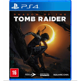Jogo Shadow Of The Tomb Raider Ps4 Mídia Física Lacrado
