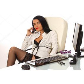 Disfraz Sexy Secretaria Ejecutiva. Mujer. Fantasia. Lenceria