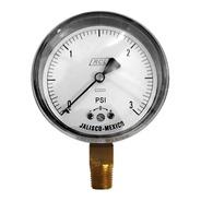 Manómetro 3 Psi Para Gas Lp Y Natural Baja Presión