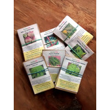 500 Plantines Sin Germinar De 15 Variedades Huerta Organica
