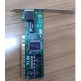 Placa De Red Pci 10/100 Encore Enl832-tx-rent Rtl8139d