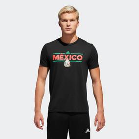 Playera Retro Mexico 70 Adidas Negro - Playeras Algodón en Mercado ... 7a1720214e1c2