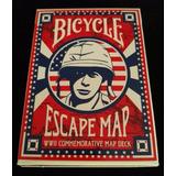 Cartas Bicycle Escape Map Segunda Guerra Mundial - Magia