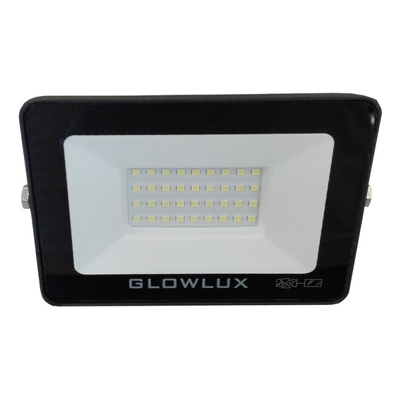 Proyector Reflector Eco Led 30w Luz Fría Glowlux - E. A.