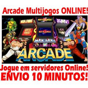 Sistema Arcade Multijogos Fliperama Jogue Servidores Online!