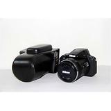 Nikon P900 Caso , Bolinus Prima Pu Cuero Cuerpo Entero Cáma