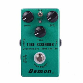 Pedal Demon Tube Screamer Ts808 Ts9 Guitarra Promoção Ibanez