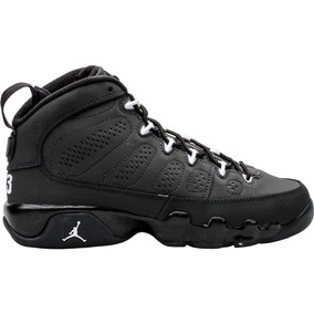 Bota Nike Air Jordan 9 Ix Retro Bg Gris Junior
