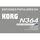Ediciones Populares Para Korg N364-n264 Emuladas A Un 99.9%