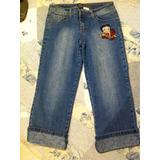 Betty Boop By South Pole Pantalón Jeans Mezclilla