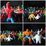 Coleccion Completa Jack Super Heroes 2009 Grandes 7 Cms