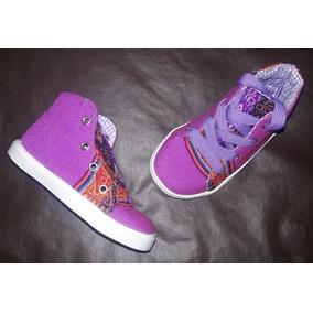 Zapatillas Botitas De Aguayo - Infantiles - Barro Cocido