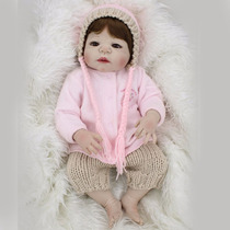 Corpo Inteiro Silicone Boneca Bebê Reborn - Pode Dar Banho!!