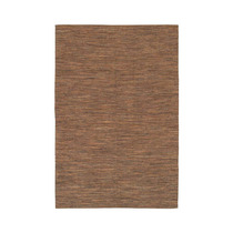 Alfombra / Tapete India Contemporary , Brown, 26x76 Runner