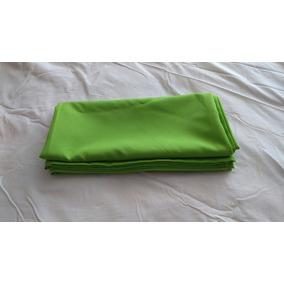 cubremantel verde manzana