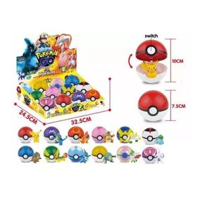Pokébola Pokémon Go 7cm 12 Pokébola 12 Pokémon Pokeball Bola