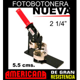 Combo Prensa/ Suajador 2 1/4 (5.5 Cms) Nueva!!