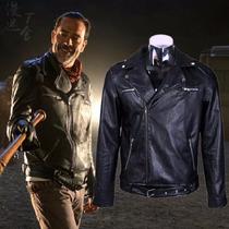 Chaqueta De Cuero Hombre The Walking Dead