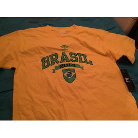 Playera Umbro Brasil 2014 Talla Chica