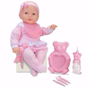 e6232beb82 Mini Bebê Com Acessórios Chupeta Manta Mamadeira Bonecas E ...