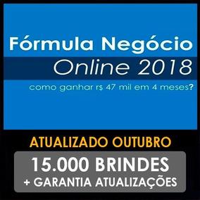 Curso Formula Negócio Online 2018 - Alex Vargas +15.000 Brin