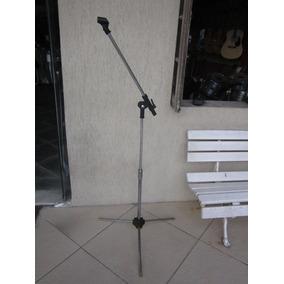 Pedestal Microfone Vintage