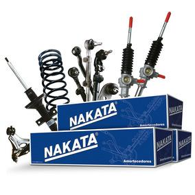 2 Amortecedores Nakata + Kits Celta Prisma 03 A 11 A Gás Par