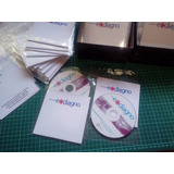 Dvds Impresos Y Grabados Con Sobre Carton Laminado Event