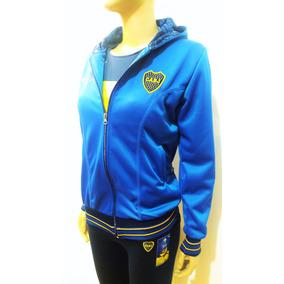 Campera Boca Juniors Licencia Oficial Mujer Camiseta Remera