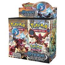 Box Caixa De Booster Pokémon Xy11 Steam Siege Em Portugês