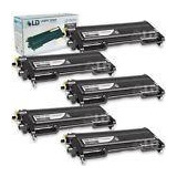 Ld © Brother Compatible 5pk Tn350 Black Dcp 7020 Hl 203