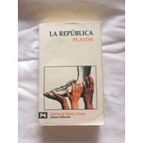 La Republica. Platón. Clásicos De Grecia Y Roma.