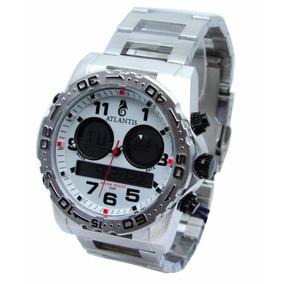 70e890839b1 Relogio Atlantis Steel Feminino Anadigi Masculino - Relógios De ...