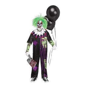 Disfraz Niño Payaso Zombie Traje Terror Miedo Halloween Mod3