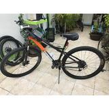 Bicicleta De Montaña 29, Equipo Shimano Y Bontrager