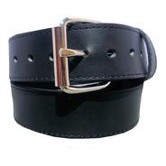 Cinturon Extra Largo Negro Resistente Piel Genuina 38mm
