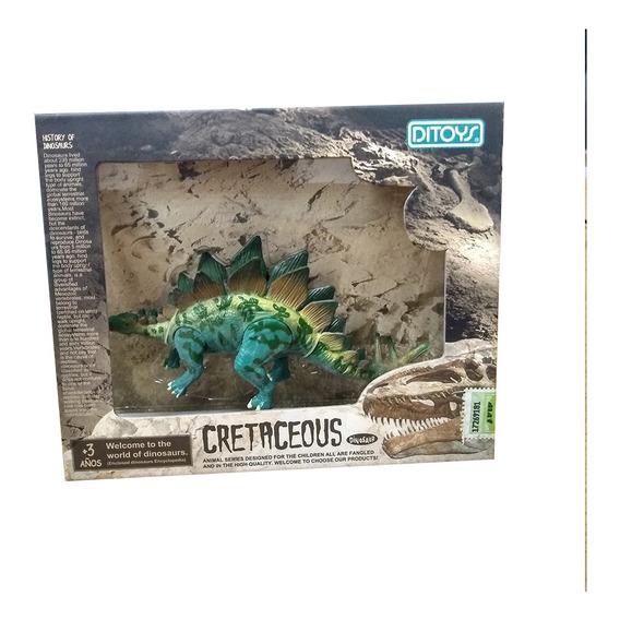 Cretaceous Dinosaurios 14 Cm Estegosaurio
