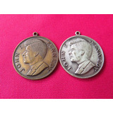 Medalla Jfk John F Kennedy Par De Medallas 60s