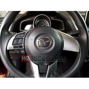 Moldura Cromo Volante Mazda 3 I Itouring 2014-2016