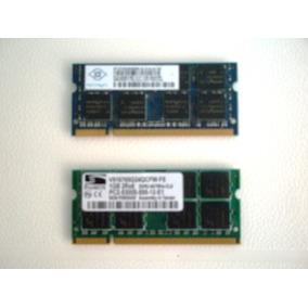 Memorias Ram Ddr2-1gb-5300s-667mhz Para Laptop