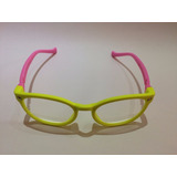 Armação Óculos Grau Flexível Infantil 4-10 Anos Silicone