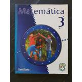 Matematica 3er Y 6to Grado Editorial Santillana
