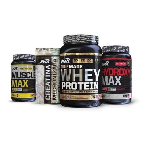 Combo Definición Plus Proteína + Creatina + Muscle + Hydroxy