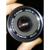 Lente Olympus F.zuico Om Sistem Auto-s F:50 Mm 1:1.8