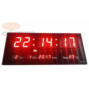 Relógio De Parede Academia Escritório Loja 35x15x3cm